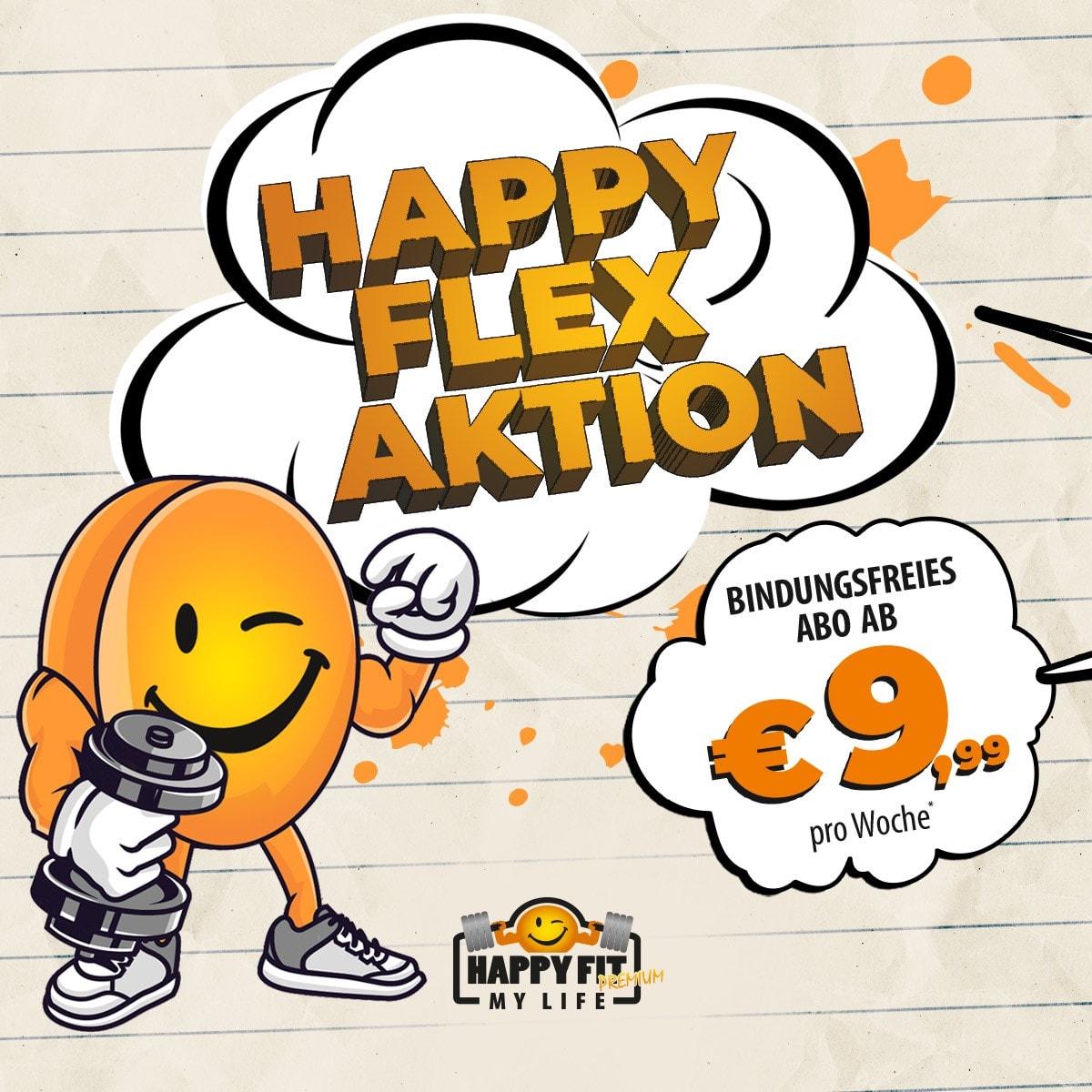 Happy Flex Aktion